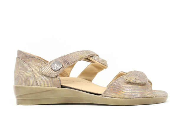 Ziera Doxie Taupe Metallic Sale - Shoemed WFW
