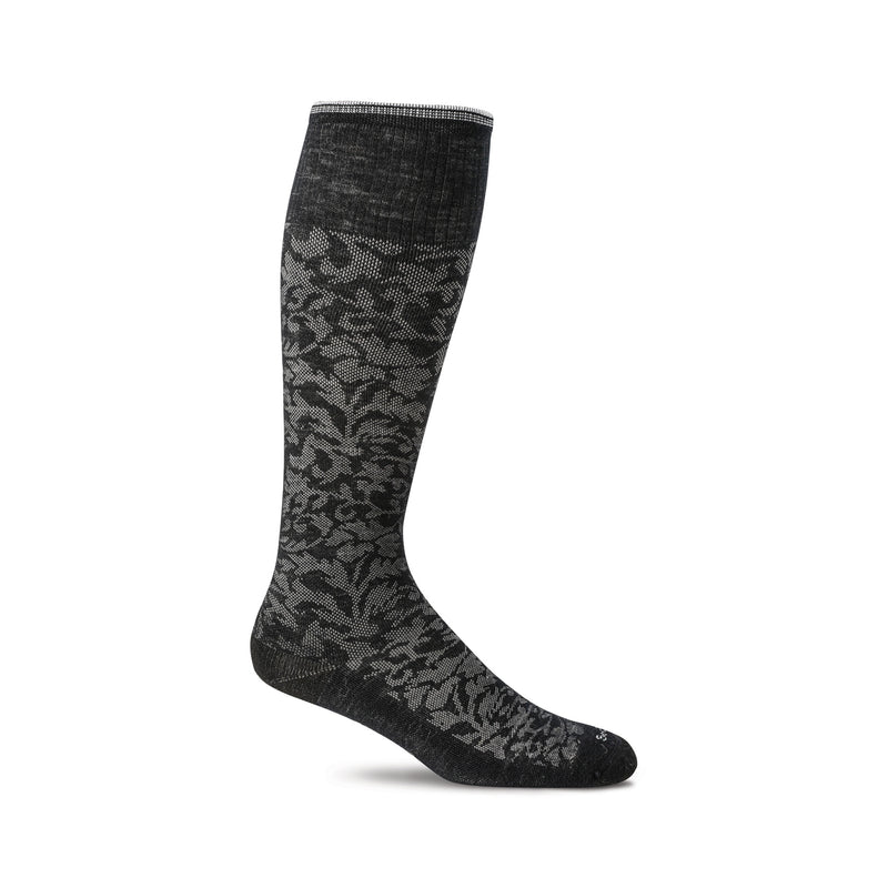 Sockwell Damask Black 900 ShoeMed