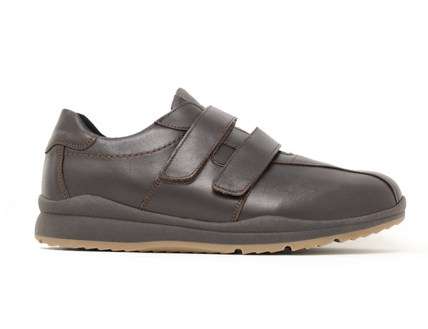 Easy B Stephen EE-4E Dark Brown ShoeMed