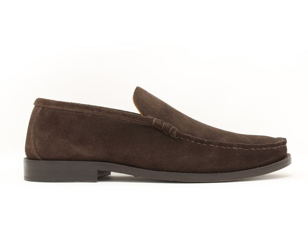 Florsheim Yuma 2 Moccasin Dark Brown Suede Sale ShoeMed