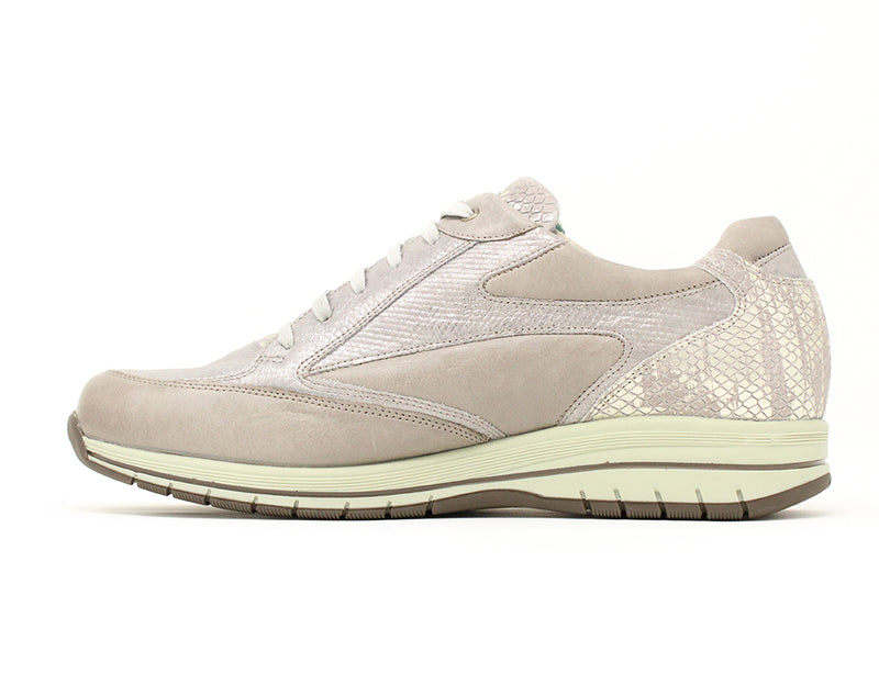 Durea Taupe Trainer Sale ShoeMed