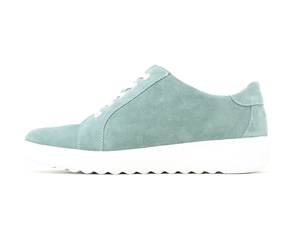 Waldlaufer H-Steffi Velour Mint ShoeMed