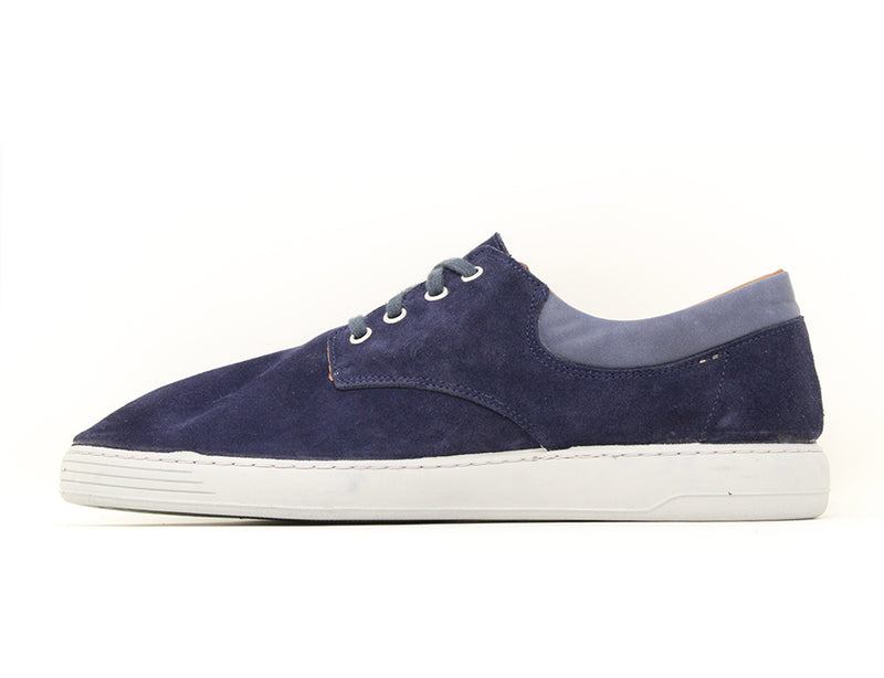 Easy B Ray 2V Navy Suede Sale ShoeMed