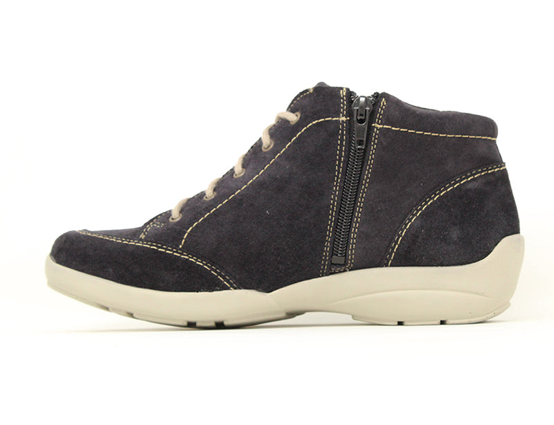 Easy B Rochefort 2V Navy Suede Sale ShoeMed
