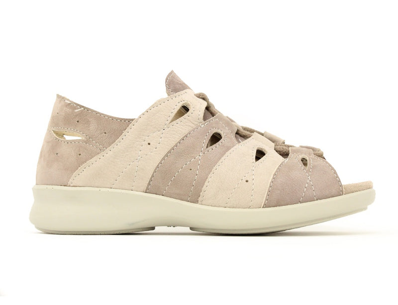 Easy B Hazel 6V Taupe ShoeMed