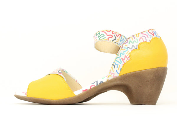 Clamp D'Angelo Scratch Yellow Print ShoeMed