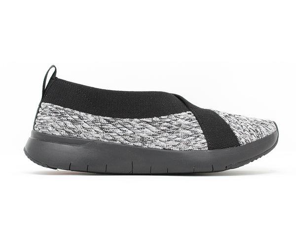 FitFlop ArtKnit Ballerina Black Mix Sale ShoeMed