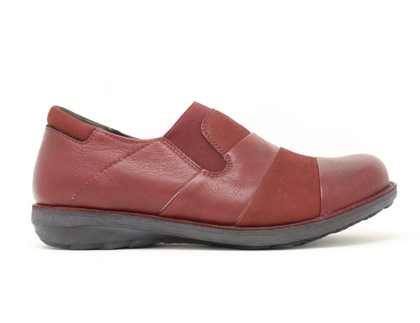 Ziera Sienna Dark Red Nubuck Sale ShoeMed
