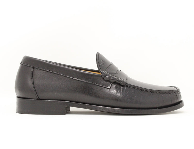 Florsheim Berkley 2 Penny Moccasin Black Sale ShoeMed