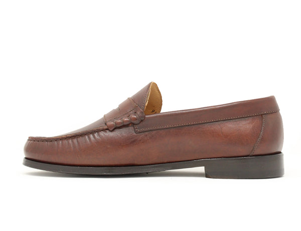 Florsheim Berkley 2 Penny Moccasin Brown Sale ShoeMed