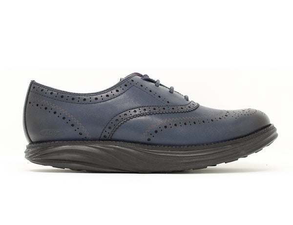 MBT Boston Burnished Navy ShoeMed