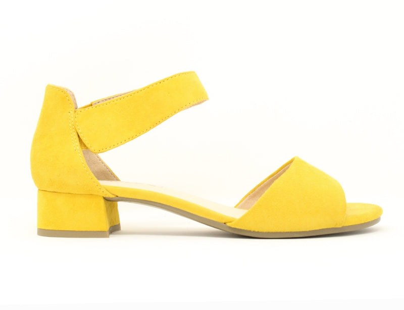 Caprice 28212 641 Yellow Suede ShoeMed