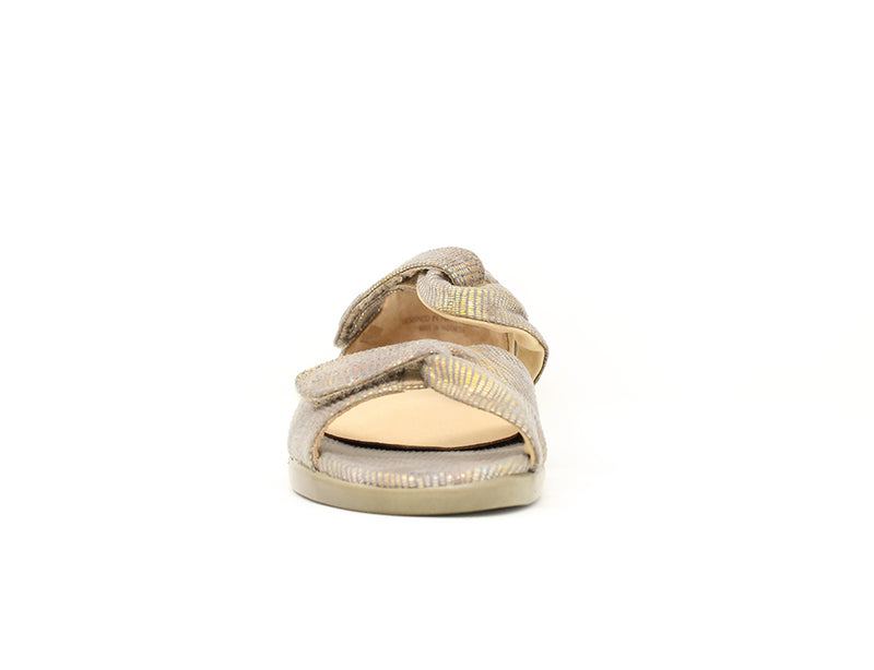 Ziera Doxie Taupe Metallic Sale ShoeMed
