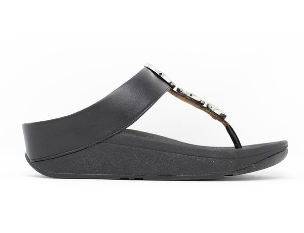 FitFlop Halo Black Sale ShoeMed