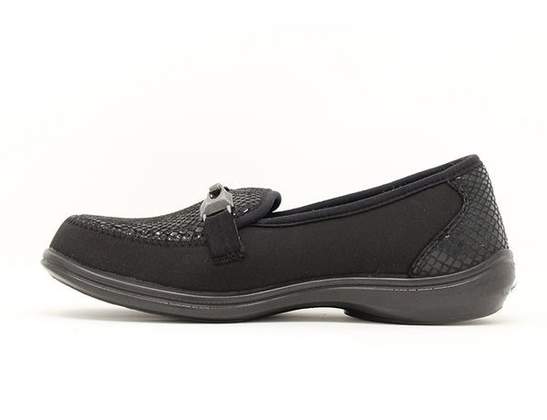 Easy B Justine EE-4E Black ShoeMed