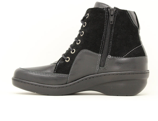 New Feet Ankle Boot Black Sale ShoeMed
