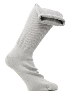 Medalin Fuller Fitting/Oedema Long Sock Grey ShoeMed