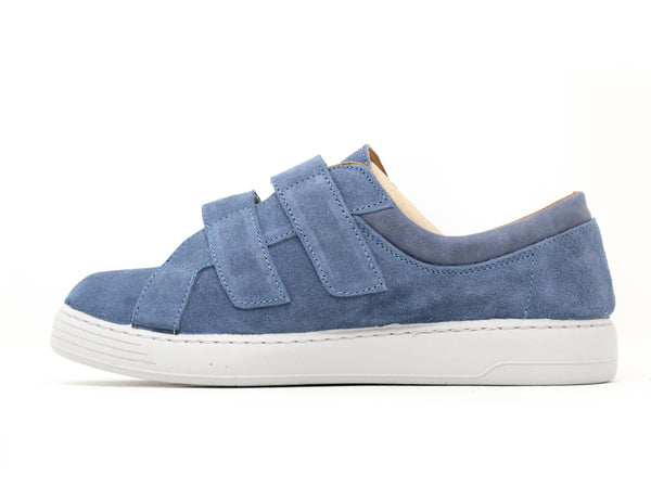 Easy B Preston 2V Blue Suede ShoeMed