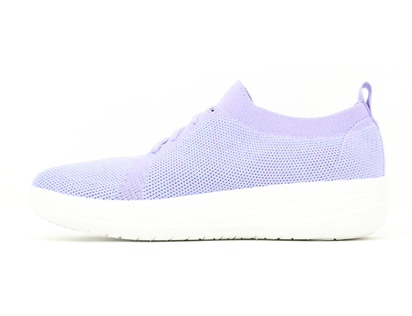 FitFlop F-Sporty UberKnit Sneakers Frosted Lavender Sale ShoeMed