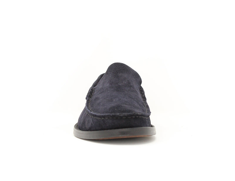 Florsheim Yuma 2 Moccasin Dark Navy Suede Sale ShoeMed