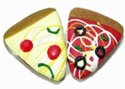 Pawsitively Gourmet Puppy Pizza Cookie - Nickel City Pet Pantry