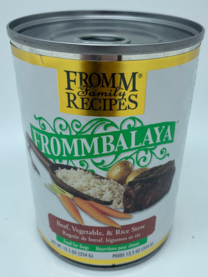 Frommbalaya Beef, Vegetable, and Rice Stew - Nickel City Pet Pantry