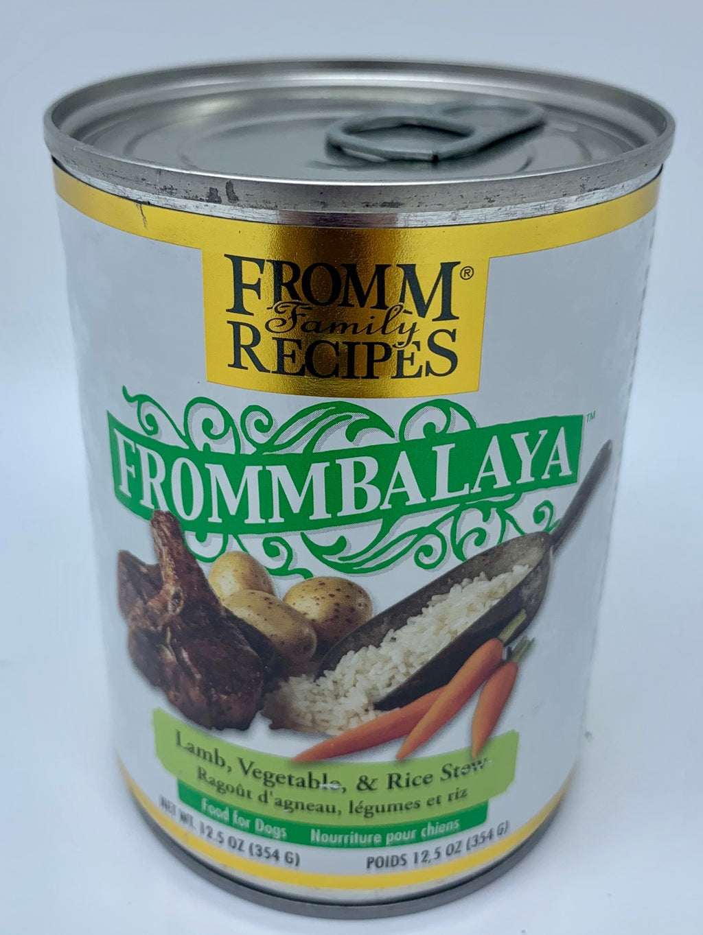 Frommbalaya Lamb, Vegetable, and Rice Stew - Nickel City Pet Pantry