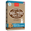 Wag More Bark Less Itty Bitty Biscuits - Cheddar - Nickel City Pet Pantry