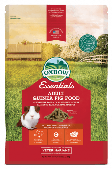 Oxbow Adult Guinea Pig Food - 10 lb - Nickel City Pet Pantry