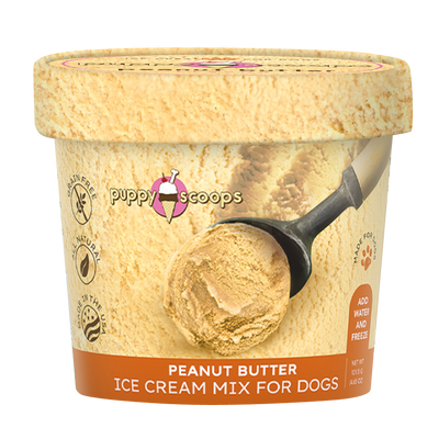 Puppy Scoops Ice Cream Mix - Peanut Butter - Nickel City Pet Pantry