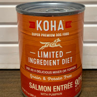 Koha Limited Ingredient Salmon Entree for Dogs