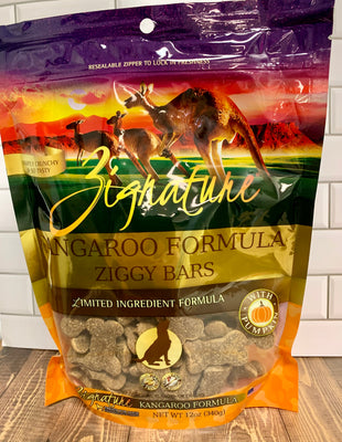 Zignature Ziggy Bars - Kangaroo Formula - Nickel City Pet Pantry