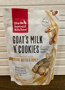 The Honest Kitchen Goat's Milk N' Cookies Crunchy Probiotic Snacks - Nickel City Pet Pantry