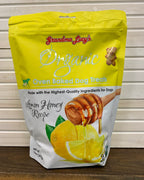 Grandma Lucy's Organic Lemon Honey Oven Baked Dog Treats - Nickel City Pet Pantry