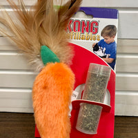 Kong Refillables Carrot Catnip Toy for Cats