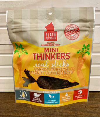 Plato Mini Thinkers Real Sticks - Carrot, Turkey & Peanut Recipe