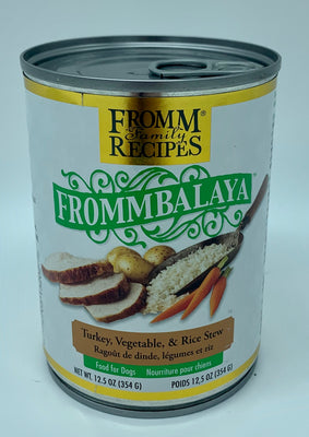 Frommbalaya Turkey, Vegetable, and Rice Stew - Nickel City Pet Pantry