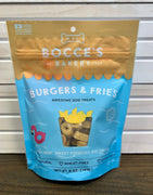Bocce's Bakery Burgers & Fries Dog Treats - Nickel City Pet Pantry