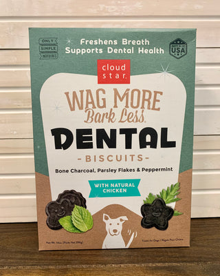 Wag More Bark Less Dental Biscuits - Nickel City Pet Pantry
