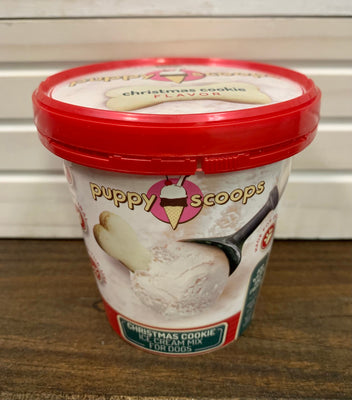 Puppy Scoops Ice Cream Mix - Christmas Cookie - Nickel City Pet Pantry