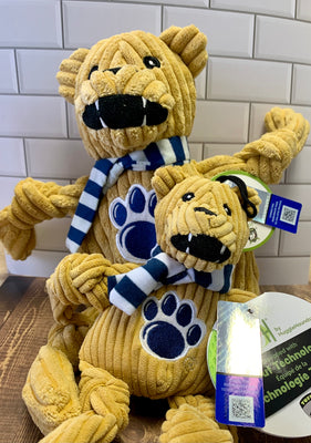 HuggleHounds Penn State University Nittany Lion Knottie - Nickel City Pet Pantry