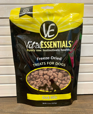 Vital Essentials Duck Nibs - 5.5 oz - Nickel City Pet Pantry