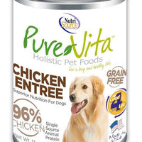 Pure Vita Canned Chicken Dog Food - 13 oz - Nickel City Pet Pantry