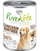 Pure Vita Canned Chicken Dog Food - 13 oz