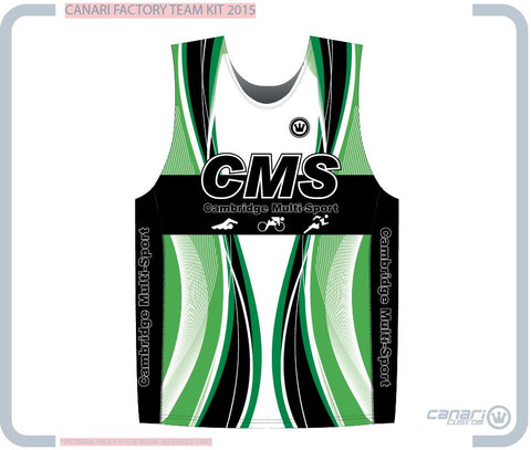 Cambridge Multi-Sport M Run Singlet