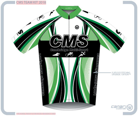Cambridge Multi-Sport M Vortex SS Jersey