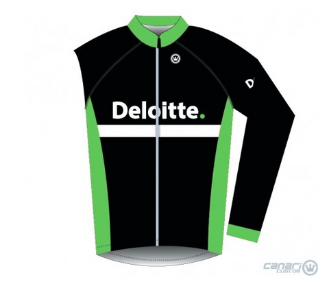Deloitte Unisex Convertible Wind Jacket