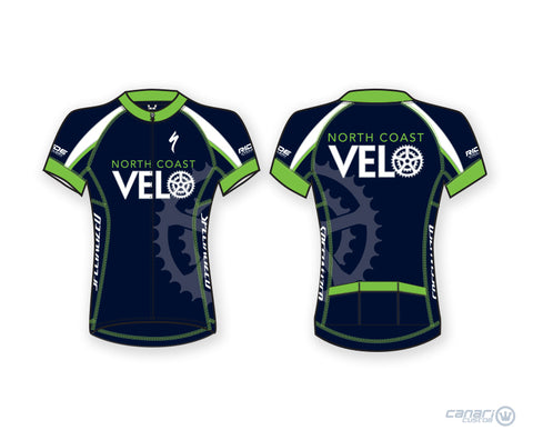 North Coast Velo Divine Short Sleeve Jersey Blue