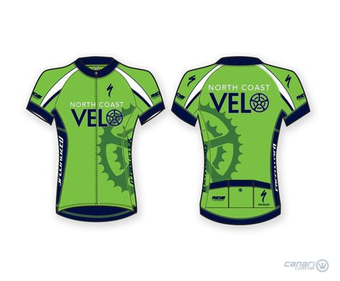 North Coast Velo Divine Short Sleeve Jersey Green