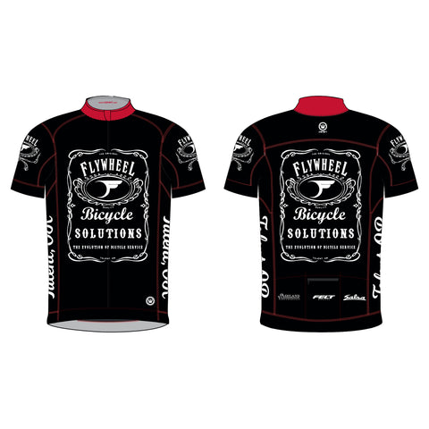 FLYWHEEL MEN Pinnacle SS Jersey Black